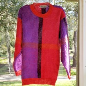 Amanda Smith Vintage Mohair/Acrylic Sweater